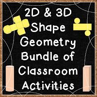 2D & 3D Shapes Printables