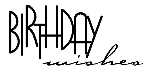 free birthday sentiment