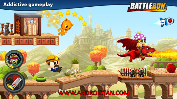 Free Download Battle Run Mod Apk v2.7.2 Unlimited Money Android Full Latest Version Terbaru 2017 Gratis