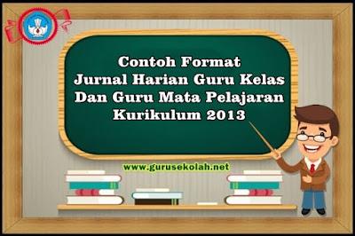Jurnal Harian Guru Kelas