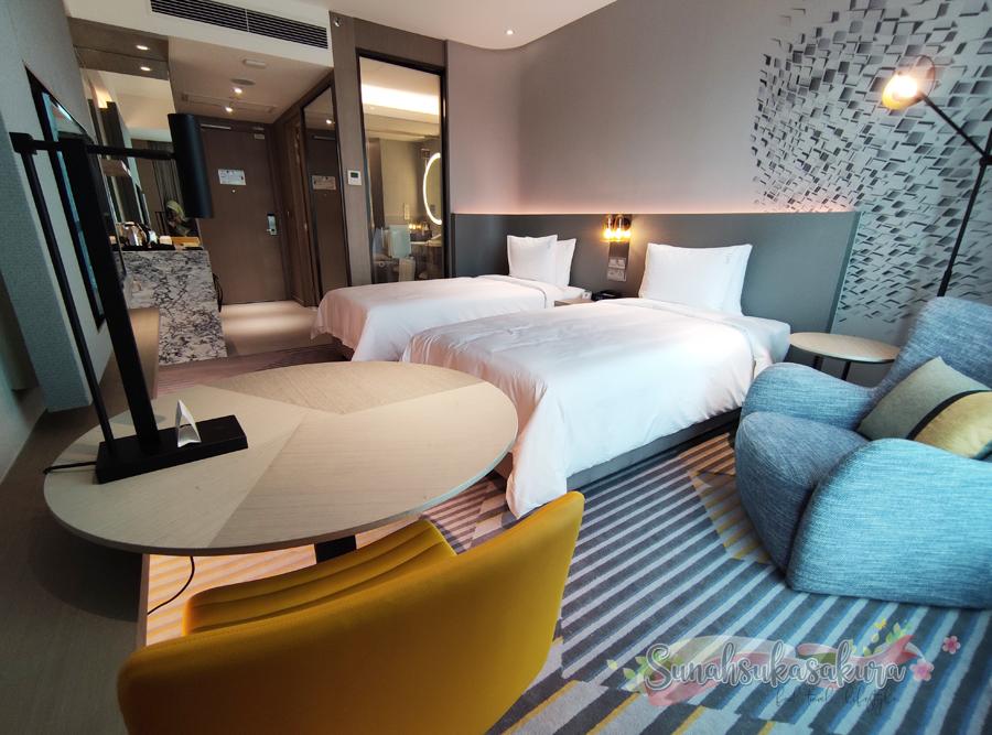 Menginap 2 Hari 1 Malam di Holiday Inn, Johor Bahru City Centre