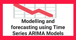 Modelling and forecasting using Time Series ARIMA Models
