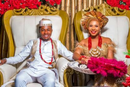 Man Excited After Marrying His Class Captain in Primary School (Photos)