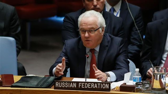Russia's UN envoy Vitaly Churkin calls on UNSC not to discredit ceasefire