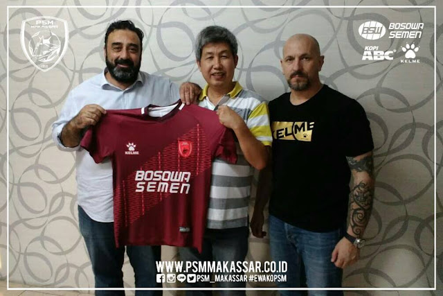 PSM Makassar bekerja sama dengan Kelme