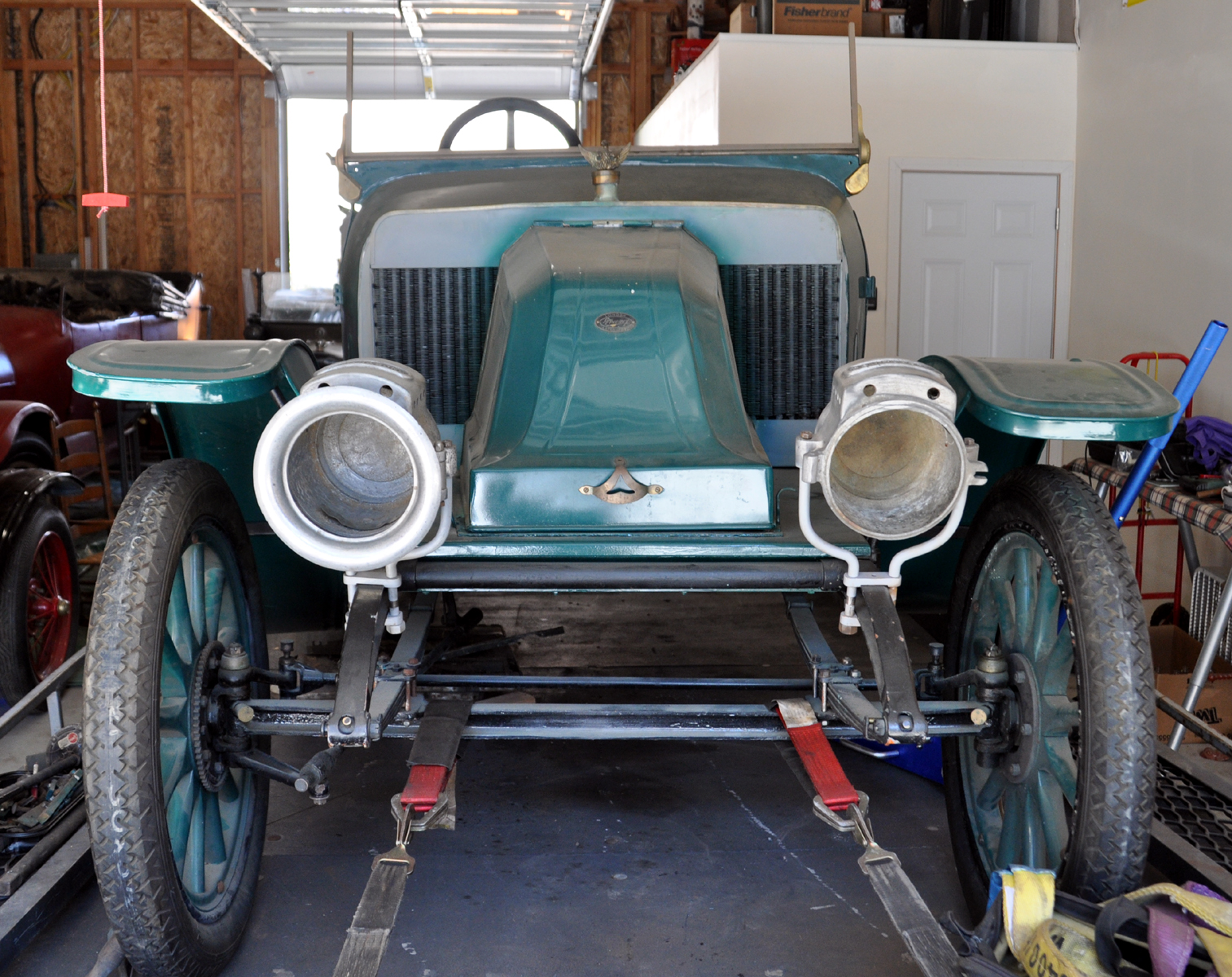 Just A Car Guy: Alex and Sandy have adopted a rare old bird, a 1913 ...