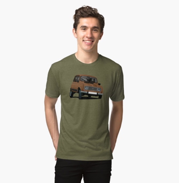 Renault 4 t-shirt
