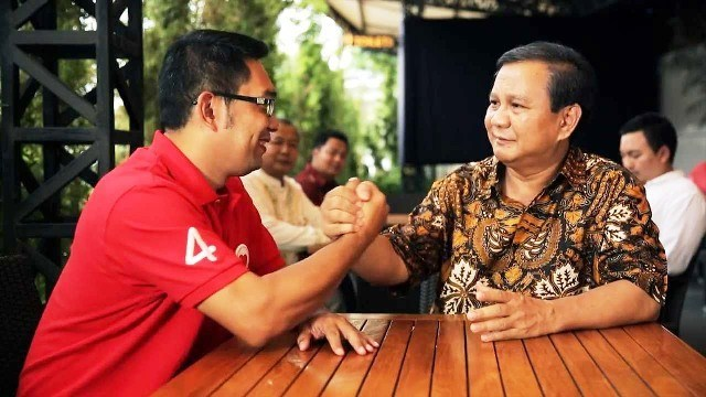 Di Pakansari, Prabowo Cerita  soal Politikus yang Lupa Jasanya Pasca-Jabat Wali Kota
