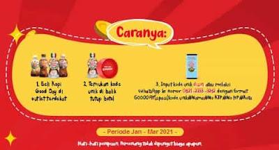 Cara Ikutan Promo Tutup Botol Good Day 2021
