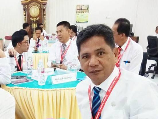 Tingkatkan Kompetensi Kepemimpinan, Camat Bontosikuyu, Ikut Diklatpim III