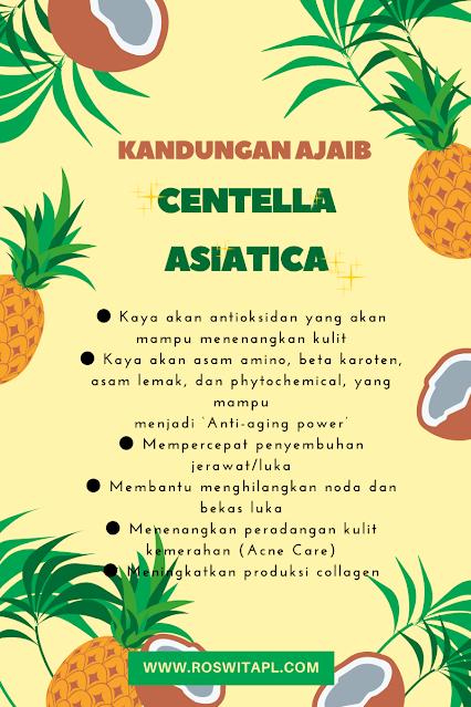 manfaat centella asiatica