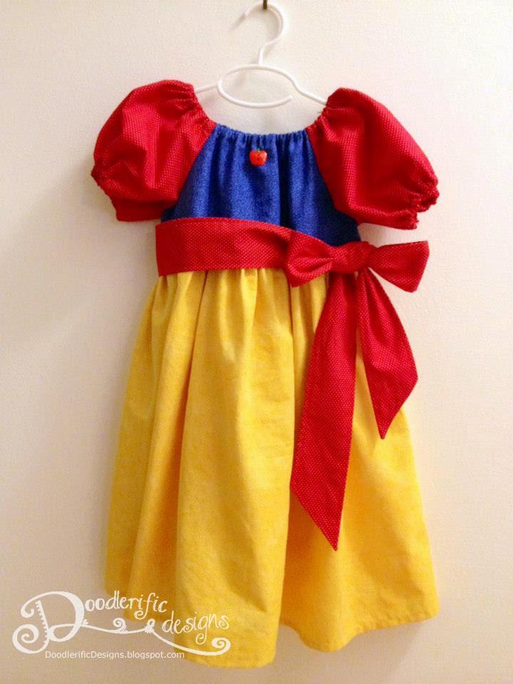 Snow White Peasant Dress