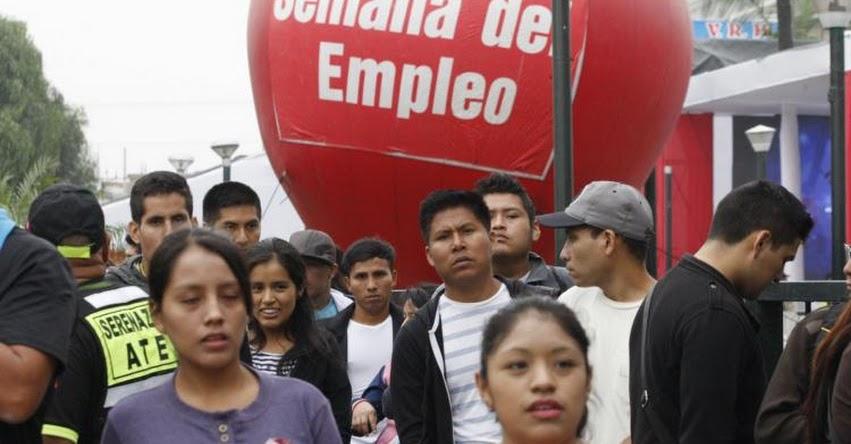 Más de 9 mil puestos de trabajo formal ofrece el MTPE durante Semana del Empleo en Lima del 13 al 15 de marzo - www.trabajo.gob.pe