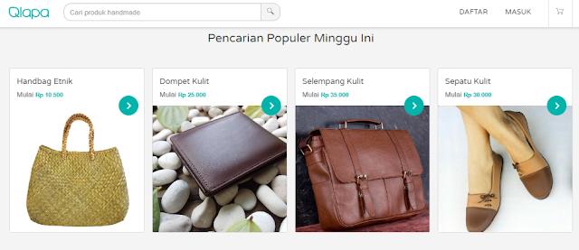 Cari Produk Handmade Unik di Indonesia?, ke Qlapa.com Aja!
