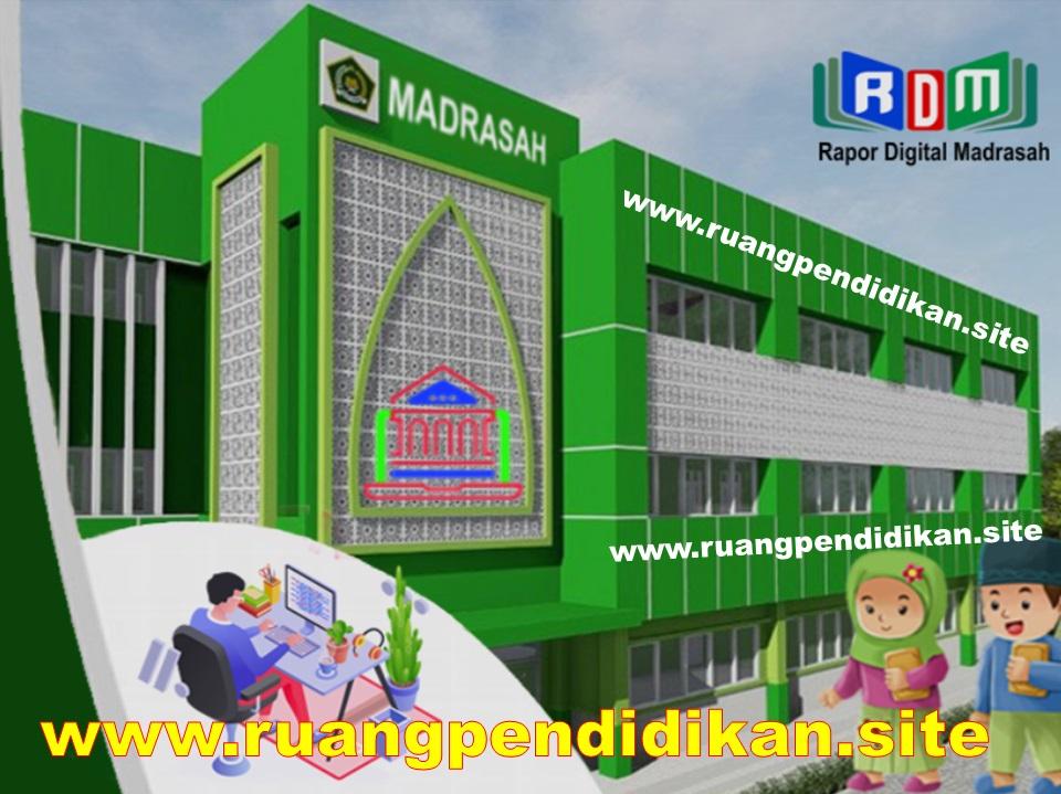Rapor Digital Madrasah (RDM) Tahun 2021