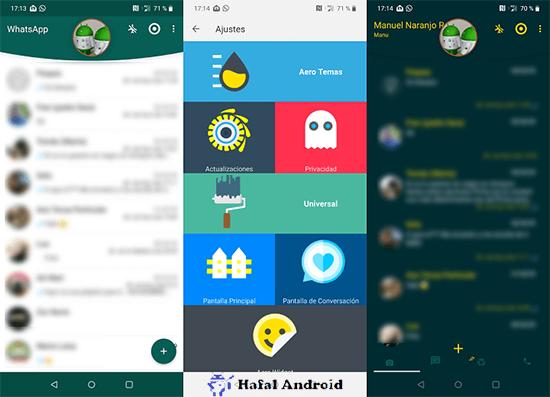 WA Mod WhatsApp Aero