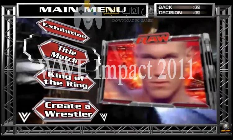 تحميل لعبة مصارعة WWE للكمبيوتر جميع الاصدارات