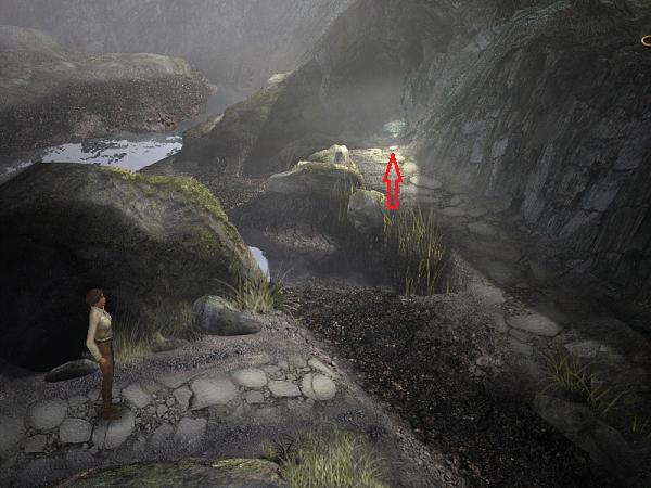 вдали виднеется вход в пещеру где лежит мамонт игрушка в игре сибирь