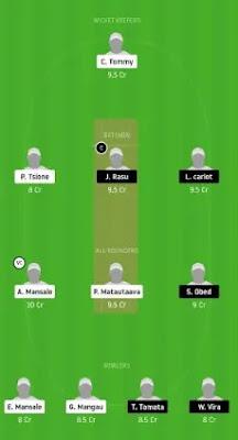 MFE vs MTB Dream11 team prediction | VANUATU T10 2020