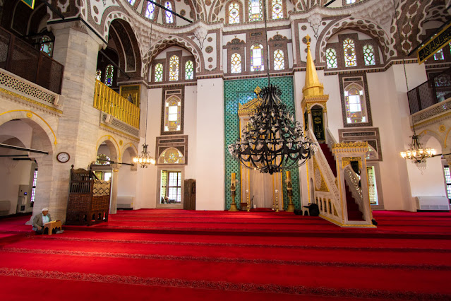 Moschea-Uskudar (quartiere asiatico)-Istanbul