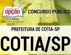 Apostila Concurso Prefeitura de Cotia 2018