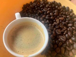 cà phê hạt rang mộc