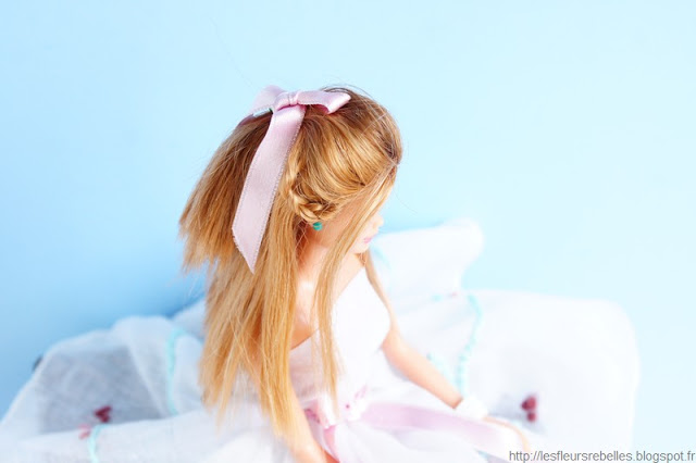 DIY couture robe Barbie la Belle et la Bete d'Ellen