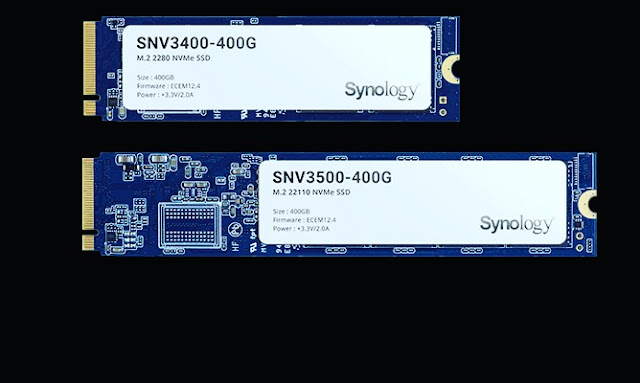 Synology NAS SSDs with 2.5 and M.2