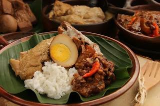 Nasi Gudeg, Yogyakarta, Indonesia
