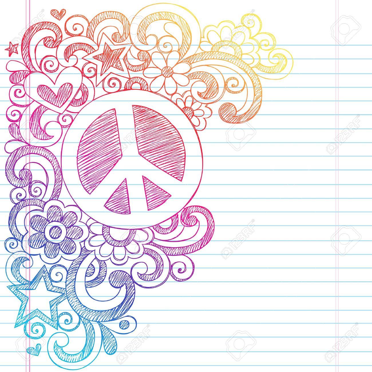 Decora Tu Pantalla Fondos Con Signo De Paz