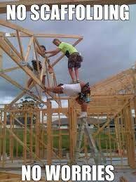 No scaffolding.. No problem