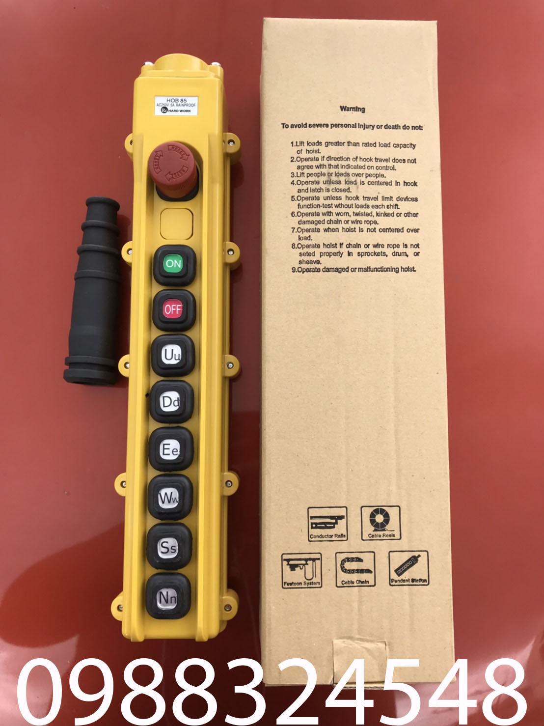 Tay điều khiển cầu trục HOB85-BA3