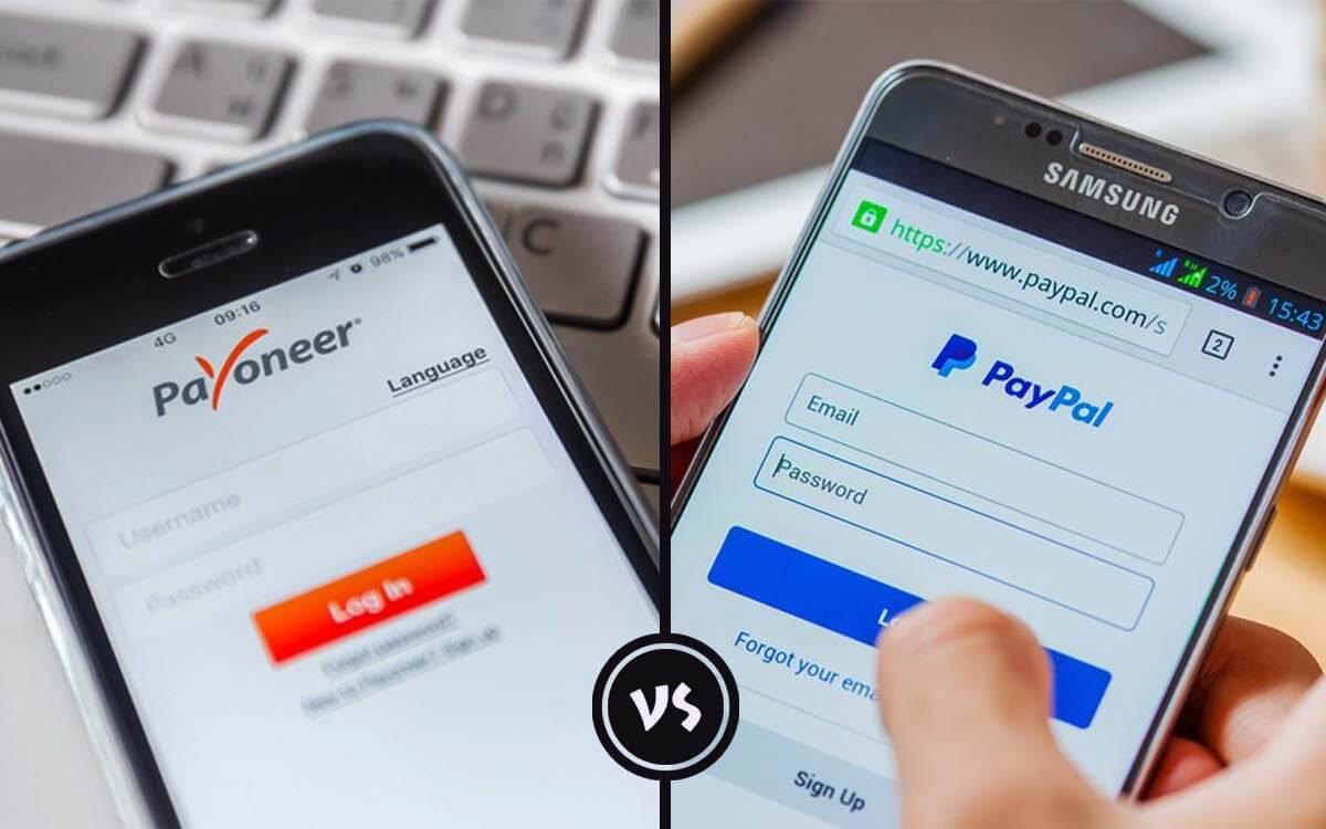 perbandingan paypal vs payoneer