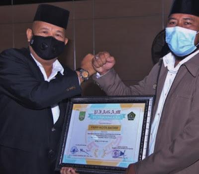 Hari Santri Nasional, Penggiat Pondok Pesantren Dapat Penghargaan dari Forkopimda Batam