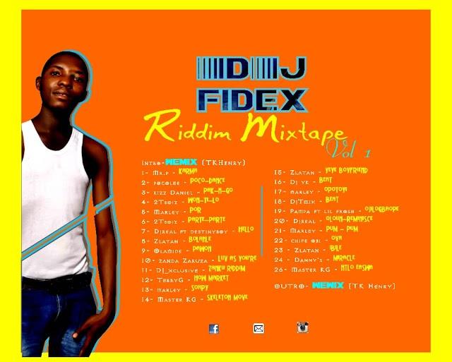 Mixtape: DJ fidex Riddim Mixtape vol.1