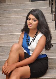 Actress Akila Stills in Short Dress (16)