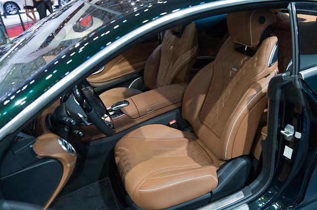 Mercedes S450 4MATIC Coupe 2019 trang bị Hệ thống tạo hương thơm thông minh