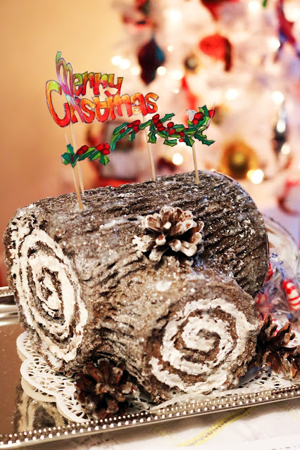 Yule Log Cake Craft