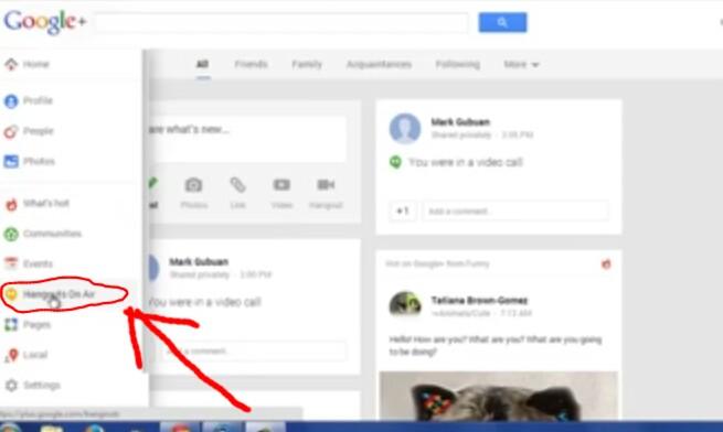 How to Create Google Plus Hangout