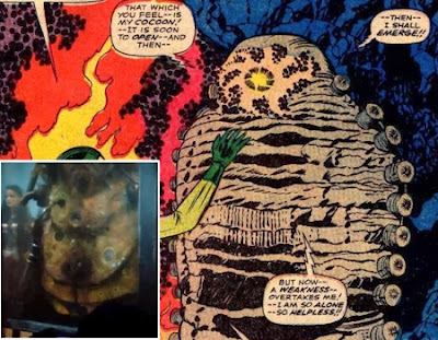 speculation was there a hint to adam warlock in thor the dark world