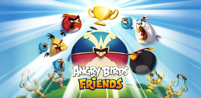 تحميل لعبة angry birds friends للكمبيوتر