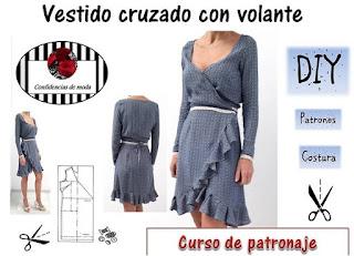 modista, labores, patronaje, costura tutoriales, vestidos mujer
