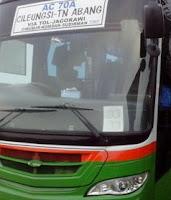 Rute Bus Kota Cileungsi Jakarta 1