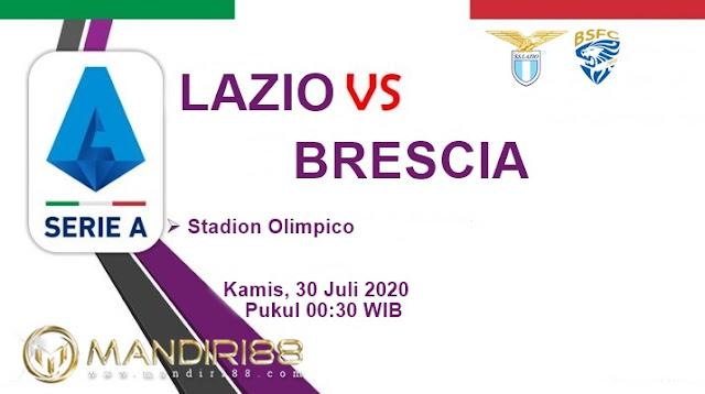Prediksi Lazio Vs Brescia, Kamis 30 Juli 2020 Pukul 00.30 WIB