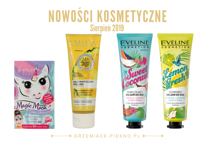 Nowości kosmetyczne Rossmann Sierpień 2019