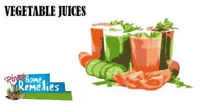 Home Remedies for Itchy Eyes: Vegetable Juices