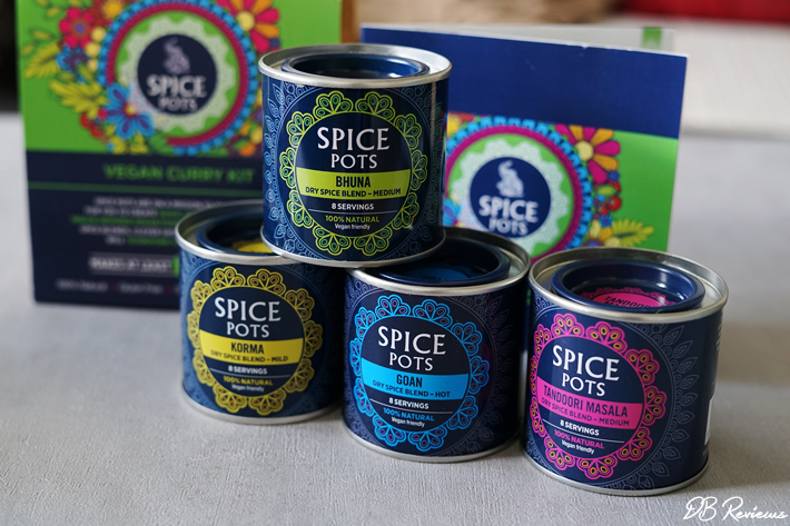 Win Spice Pots' Vegan Curry Kit