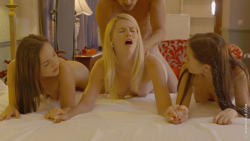 [WowGirls] Izzy Delphine, Sasha Rose & Kristy Black - Three Times Better