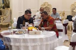 Nico Barito Ketemu Murad Ismail Jajaki Pengembangan Pariwisata di Maluku