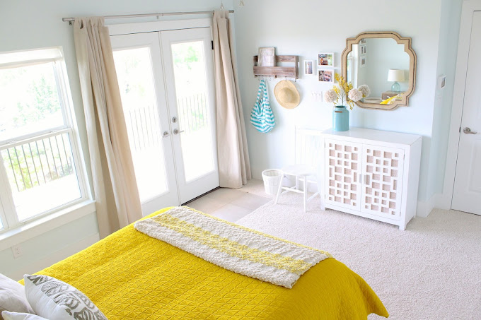 Guest Room Reveal Before And After